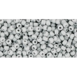 Rocailles Toho 11/0 Opaque Gray