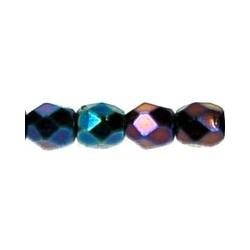 Mezzo Cristallo  3 mm  Iris Blue  - 50  Pz