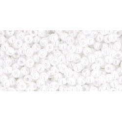 Rocailles Toho 11/0 Opaque-Lustered White