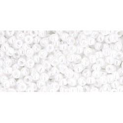 Toho Round 11/0 Opaque-Lustered White