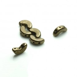 Arcos® par Puca® 5x10 mm Dark Gold Bronze  - 10 g