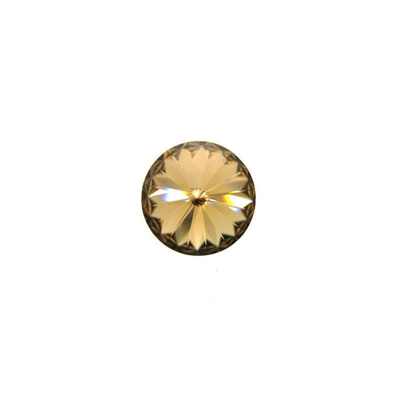 0bb2826fd Swarovski Rivoli 1122 14 mm Light Colorado Topaz - 1 pc - Beads Mine