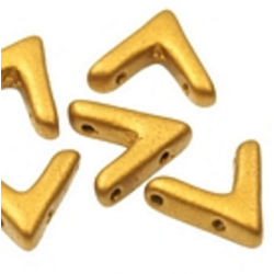 AVA® Bead 10x4 mm Brass Gold - 10 Pz