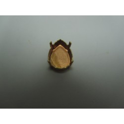 Closed Cabochon Setting for Tear Drop 18x13 mm - 1 pc