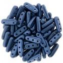 Perline Beam 3x10 mm Metallic Suede Blue - 5 g