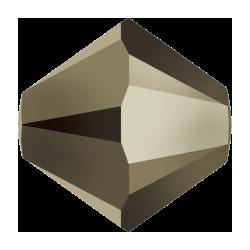 Swarovski Bicone 5301  3 mm  Crystal Metallic Light Gold  2X     - 50  pcs