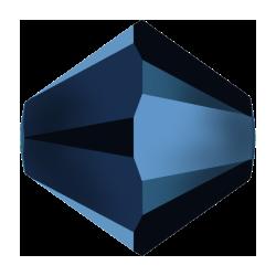 Swarovski Bicone 5301  3 mm  Crystal Metallic Blue   2X     - 50  pcs