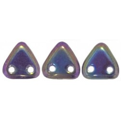 Perline Triangle 6 mm Iris Purple - 5 gr