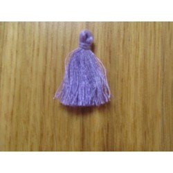 Cotton Thread Tassel Pendant  25-31 mm  Lilac    - 1 pc