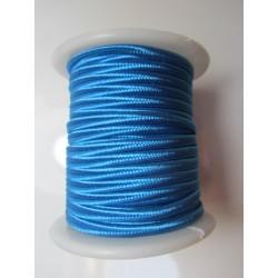 Cordoncino Soutache 4 mm Blu Turchese Scuro - 2 m