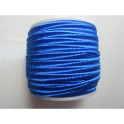 Cordoncino Soutache  4 mm Blu Elettrico  - 2 m