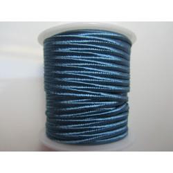 Cordoncino Soutache  4 mm Blu Avio  - 2 m