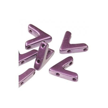 AVA®  Bead  10x4 mm  Pastel Bordeaux - 10 Pz