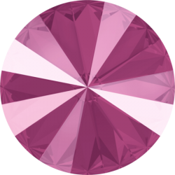 Swarovski Rivoli  1122  14 mm  Crystal Peony Pink  - 1 pc