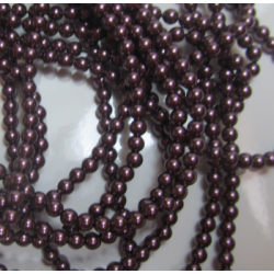 Swarovski Pearls 5810 3 mm Burgundy Pearl - 20 Pcs