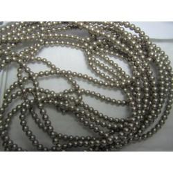 Swarovski  Pearls 5810  3 mm Platinum  - 20  Pcs
