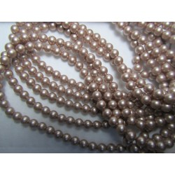 Perle Swarovski 5810  4 mm Powder Almond - 20  Pz