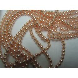 Swarovski  Pearls 5810  4 mm Peach Pearl - 20  Pcs