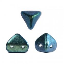 Super-KhéopS® par Puca®  6mm   Metallic Mat Green Turquoise   - 10  g