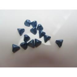 Super-KhéopS® par Puca®  6mm   Metallic Mat Blue     - 10  g