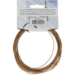 Aluminum Wire 1,2 mm (18 Gauge) Copper - Spool of 9,2 m (30 ft)