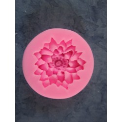 Lotus Flower  Silicone Mould  5,6 x 1,6   cm  - 1 pc