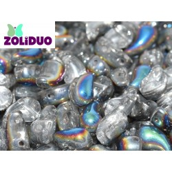Zoliduo®  5 x 8  mm Crystal Vitrail  Right Version  -  20  pcs
