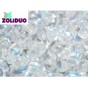 Zoliduo®  5 x 8  mm Crystal AB  Right Version  -  20  pcs
