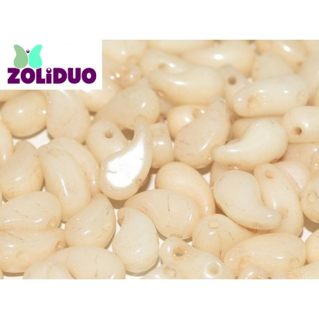 Zoliduo® 5 x 8 mm Opaque Champagne Luster Right Version - 20 pcs