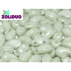 Zoliduo®  5 x 8  mm Opaque Mint  Luster  Right Version  -  20  pcs