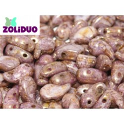 Zoliduo® 5 x 8 mm Lila-Rose/Gold Right Version - 20 pcs