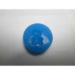 Teddy Bear Silicone Mould 4 x 1,4 cm - 1 pc