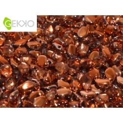 Perline GEKKO®  3x5 mm  Crystal Sunset  -  5 g