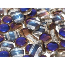 DiscDuo® Beads 6 x 4 mm Crystal Azuro  - 25  pcs