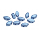 IrisDuo® 7 x 4 mm Metallic Sea Blue - 25 Pz