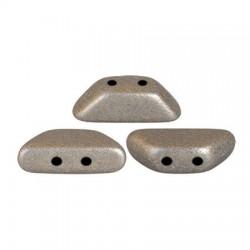 Tinos® par Puca® 4x10 mm Metallic Mat Beige  - 10 g
