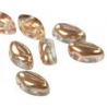 IrisDuo® 7 x 4 mm Crystal Capri Gold - 25 Pz