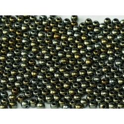 Round Beads  6 mm   Iris Brown - 25 pcs
