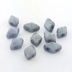 DIAMONDUO™ MINI  4 x 6 mm  Chalk   Lumi Blue    - 5 g