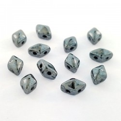 DIAMONDUO™ MINI  4 x 6 mm  Hematite    - 5 g
