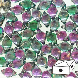 DIAMONDUO™  5 x 8 mm Prismatic Tropics  -  5 g