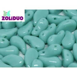 Zoliduo®  5 x 8  mm Opaque Green  Luster  Right Version  -  20  pcs