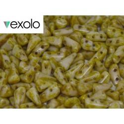 Perline VEXOLO® 5x8 mm Alabaster Travertin - 40 Pz