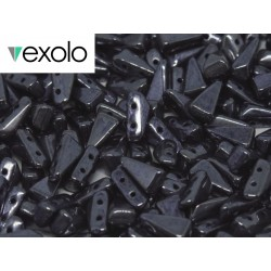 Perline VEXOLO® 5x8 mm Hematite  -  40 Pz