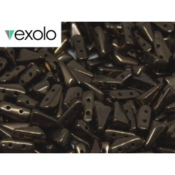 Perline VEXOLO® 5x8 mm Jet Bronze -  40 Pz