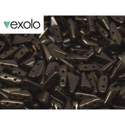 Perline VEXOLO® 5x8 mm Jet Bronze - 40 Pz