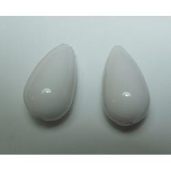 Goccia Resina  25x14 mm White  -  1 pz