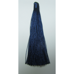 Nylon Tassel 12 cm Dark Blue - 1 pc