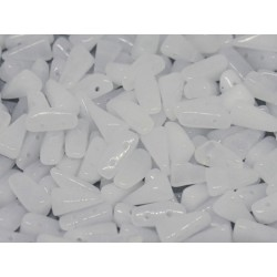 Perline VEXOLO® 5x8 mm Alabaster  -  40 Pz