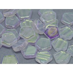 Pego Beads  10 mm  Crystal  AB -  5 pz